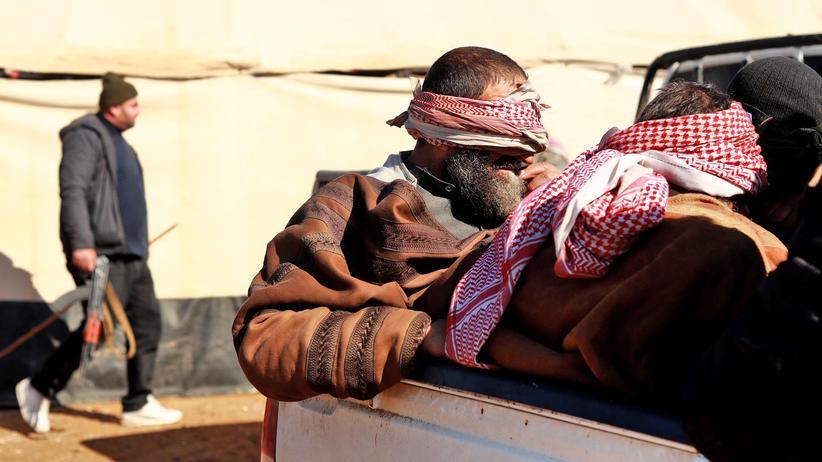 """Syrien: """"Wir werden sie nicht freilassen"""""""
