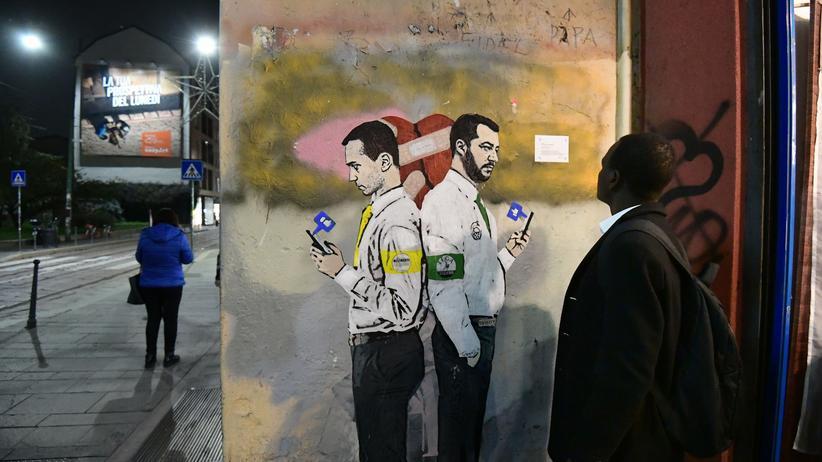 Italien und Frankreich: Sie wollen zerschlagen, nicht bauen
