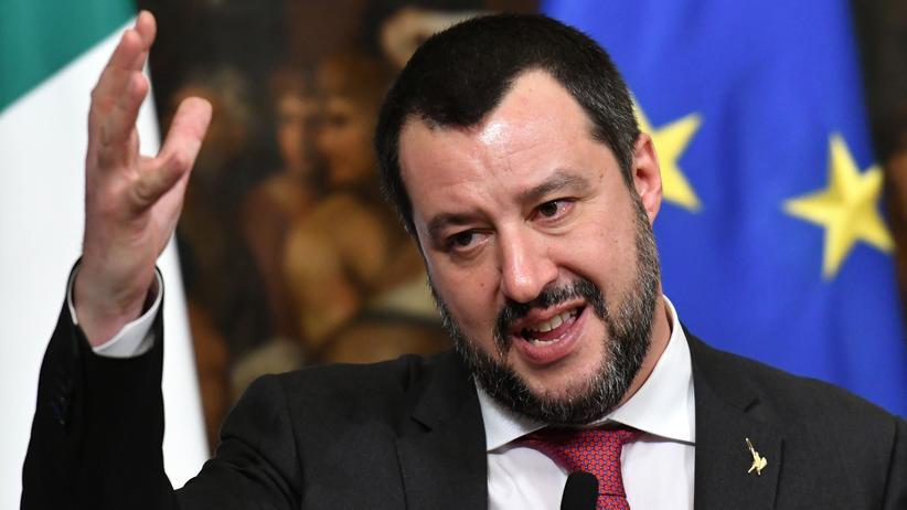 Italien: Der italienische Innenminister und Lega-Chef Matteo Salvini