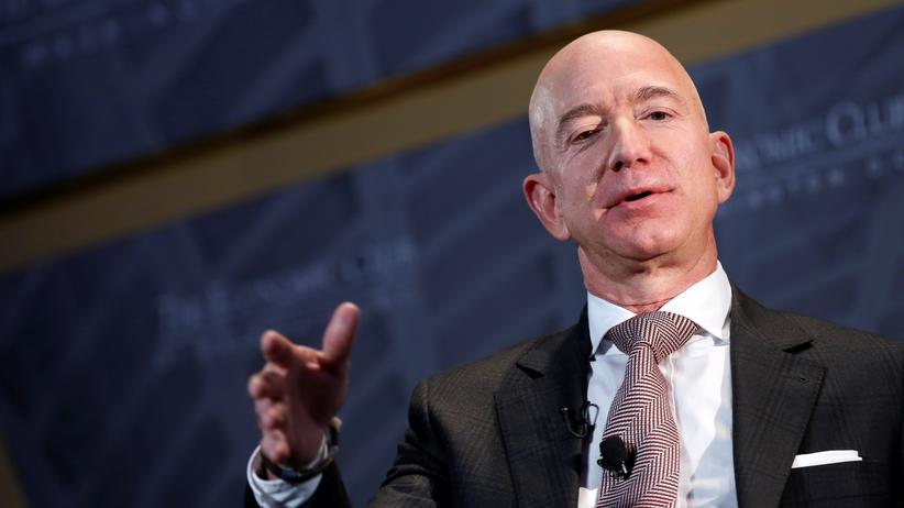 """Der Besitzer der """"Washington Post"""" und Amazon-Gründer Jeff Bezos"""