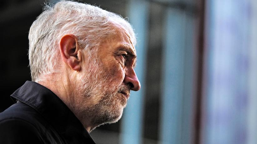 Jeremy Corbyn: Großbritanniens Oppositionsführer und Labour-Chef Jeremy Corbyn am 25. Januar im englischen Middlesbrough