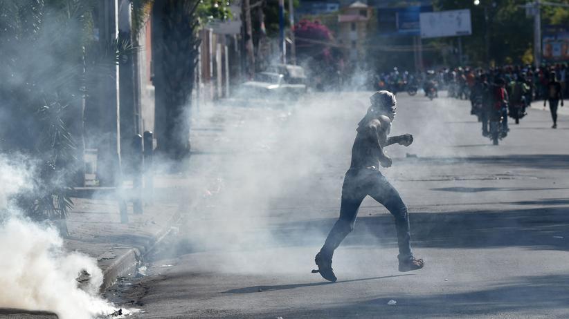 Jovenel Moise: Haitis Präsident ruft Opposition zum Dialog auf