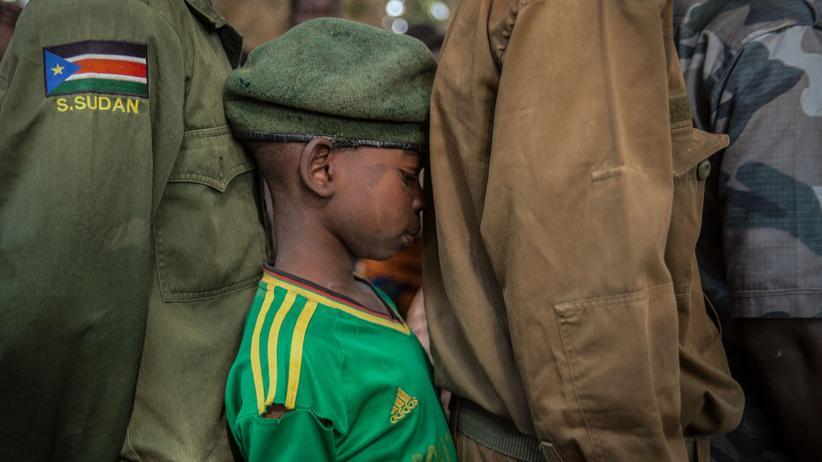 Unicef: Ausweglos: Viele Kindersoldaten werden gezwungen, sich selbst in Gefahr zu bringen.