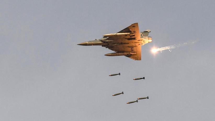 Kaschmir: Der letzte Luftangriff in Kaschmir ist 30 Jahre her (Archivbild).