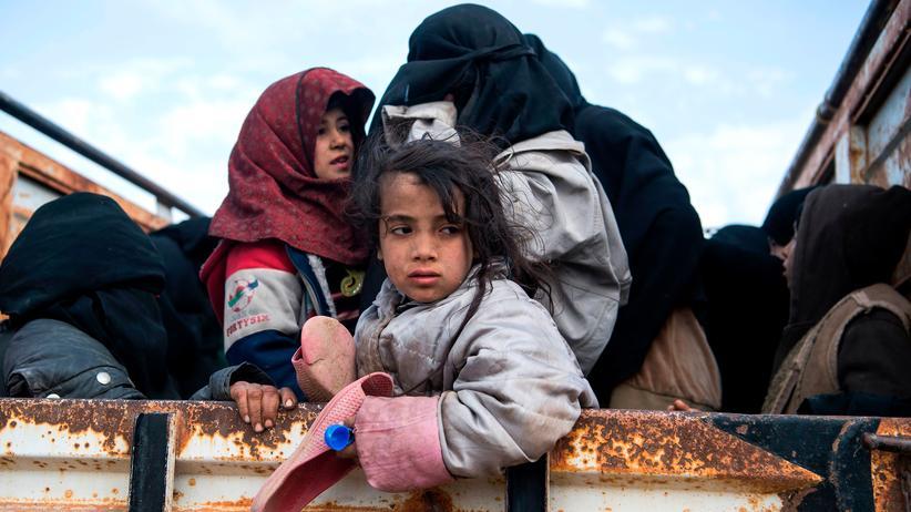 Ostsyrien: Geflüchtet aus Baghus