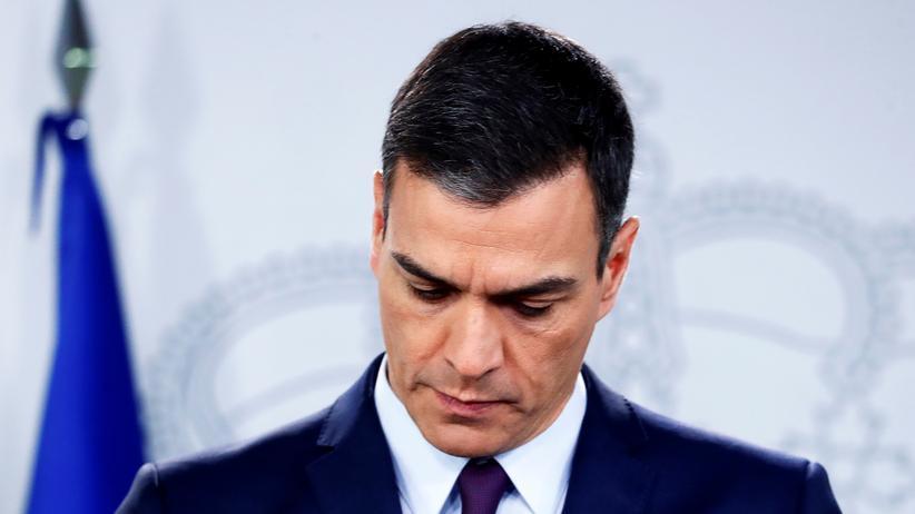 Pedro Sánchez: Spaniens Regierungschef verkündet Neuwahlen