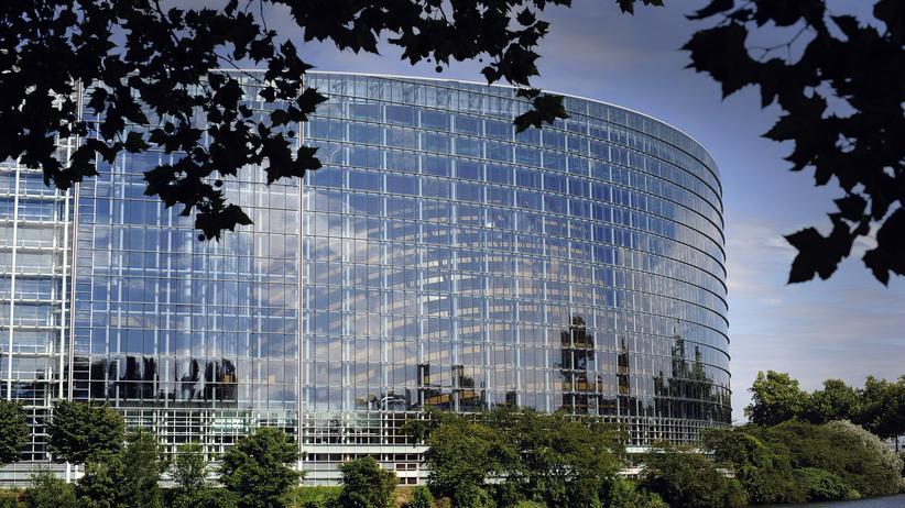 EU-Parlament: Das Europäische Parlament in Straßburg
