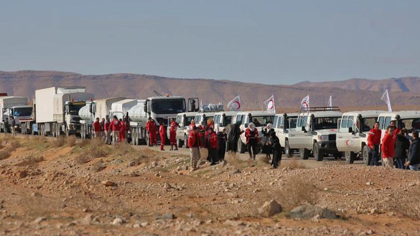 """Syrien: Lage in Flüchtlingslager Rukban laut UN """"dramatisch"""""""