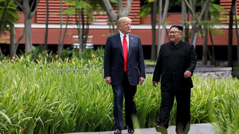 Gipfel: Donald Trump und Kim Jong Un treffen sich in Hanoi