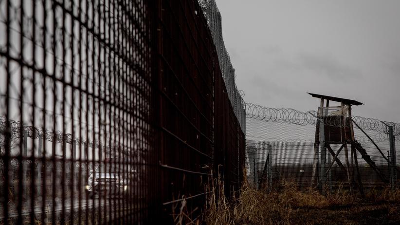 Viktor Orbán: Der ungarische Grenzzaun an der Grenze zu Serbien
