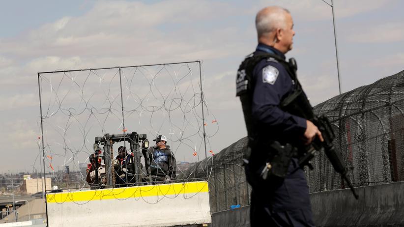 USA: Die Grenze zwischen den USA und Mexiko: Donald Trump sieht die Notstandsregelung als angemessenes Mittel, um gegen Drogenhandel und illegale Einwanderer vorzugehen.
