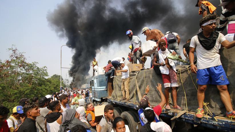 Venezuela: Kolumbien bricht Hilfsmission ab