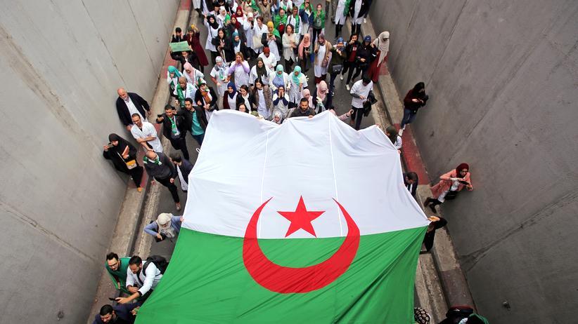 Algerien: Bouteflikas Partei unterstützt die Demonstrationen