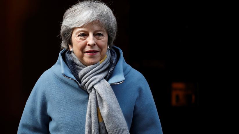 Abstimmung im britischen Unterhaus: Premierministerin Theresa May