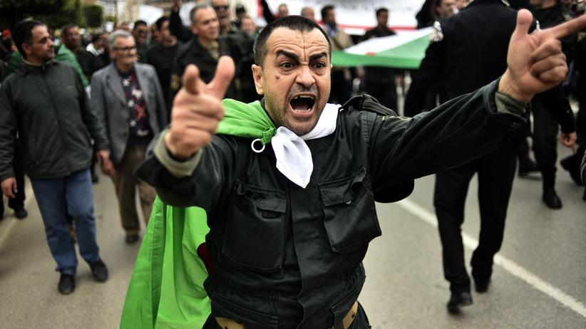 Algerien: Demonstration gegen Präsident Abdelaziz Bouteflika am 26. März 2019 in Algier