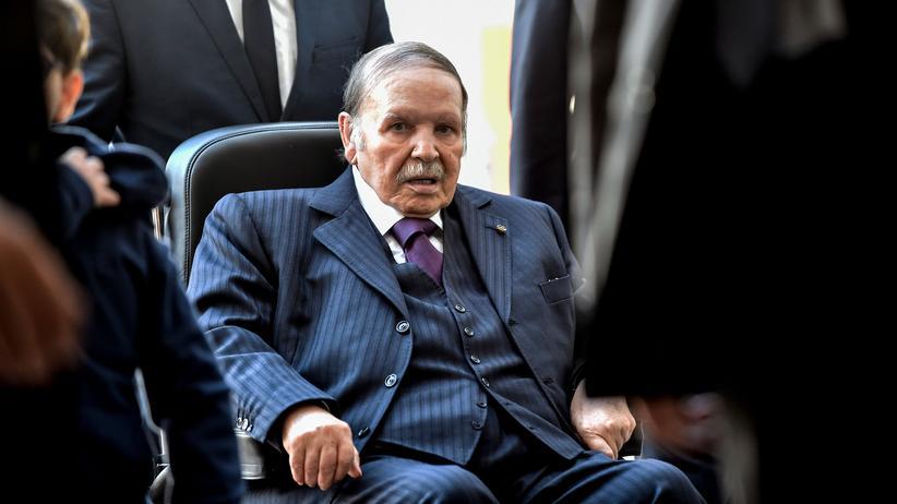 Algerien: Präsident Bouteflika verzichtet auf erneute Kandidatur
