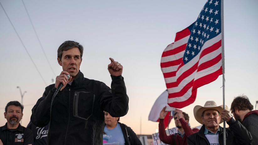 US-Wahl 2020: Beto O'Rourke bewirbt sich um US-Präsidentschaftskandidatur