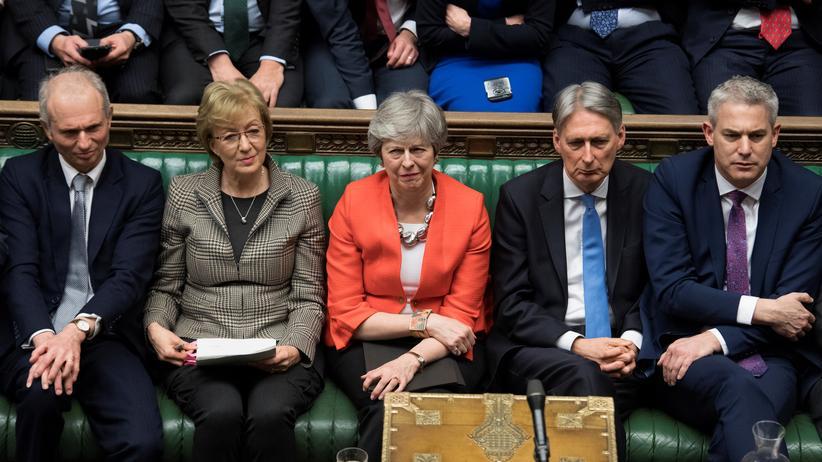 Brexit: Die britische Premierministerin Theresa May nach dem Abstimmungsergebnis