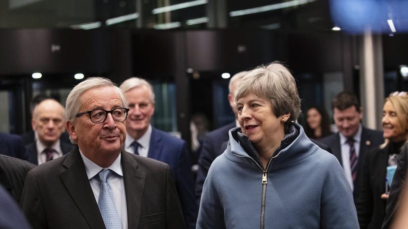 Brexit: EU und Großbritannien einigen sich auf Änderungen beim Backstop