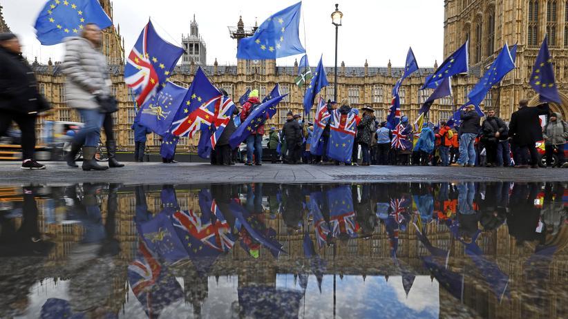 Brexit: Premierministerin scheitert erneut mit ihrem Brexit-Vertrag