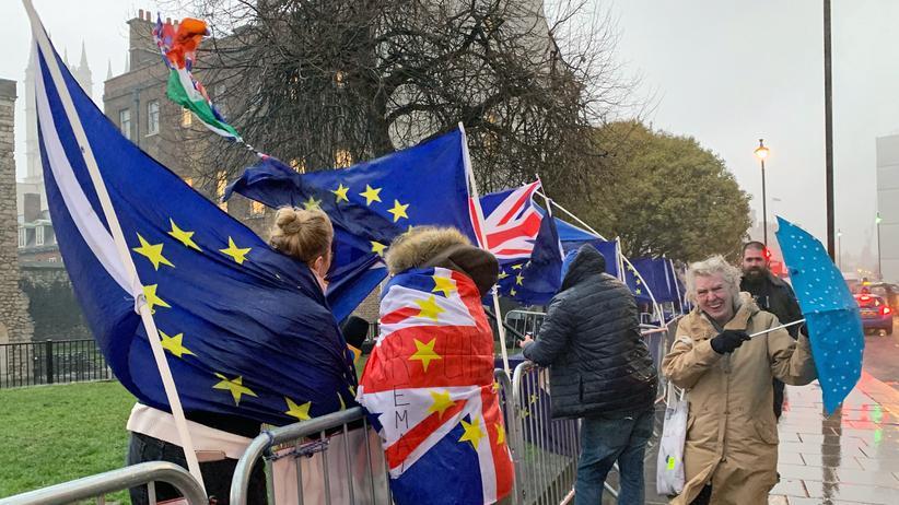 Ungeregelter Austritt: Großbritannien verlässt nach aktuellem Stand am 29. März die Europäische Union.