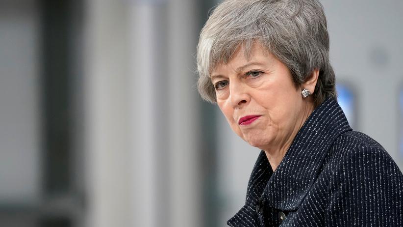 Brexit: Aus Sicht der EU hat sie sich selbst in die Ecke gedrängt: die britische Premierministerin Theresa May.
