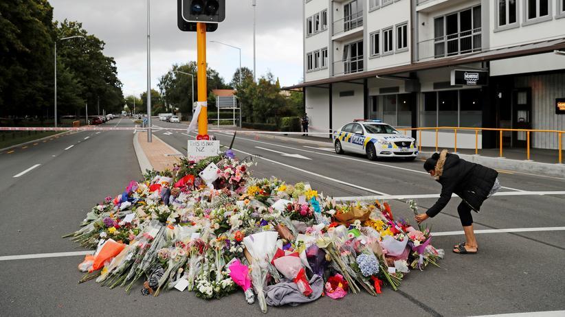 Terror in Neuseeland: Nach der Gewalttat herrscht große Trauer in Christchurch.