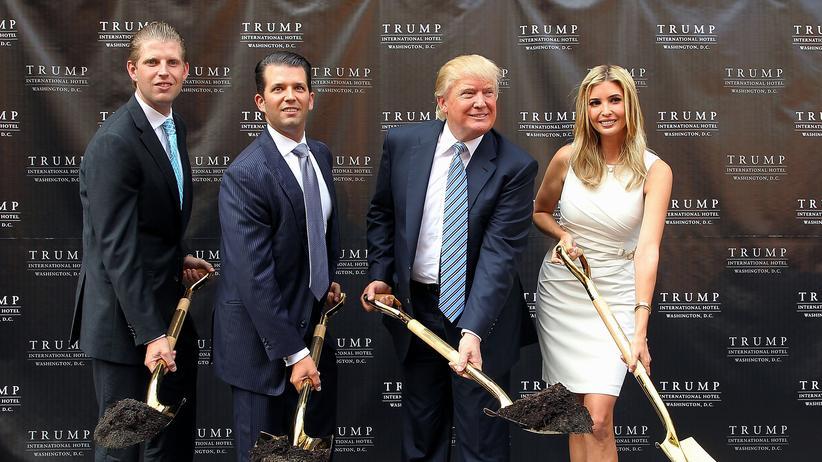 Donald Trump: Ein schönes Instrument für den Wahlkampf
