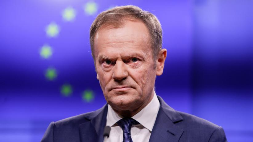 EU-Austritt: Donald Tusk setzt sich für lange Brexit-Verschiebung ein