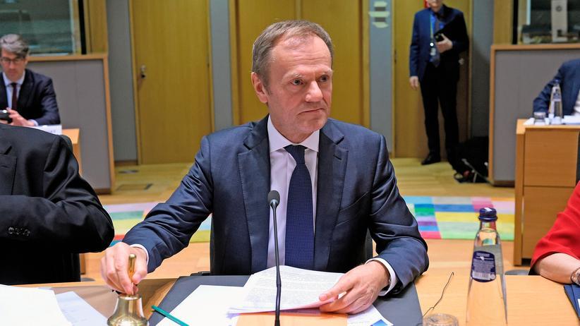 EU-Austritt: EU-Ratspräsident Donald Tusk hält eine Verlängerung der Brexit-Frist für möglich, falls die Briten dem Brexit-Vertrag zustimmen.