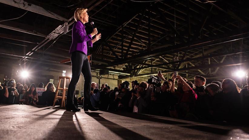 Elizabeth Warren: Die linke Außenseiterin
