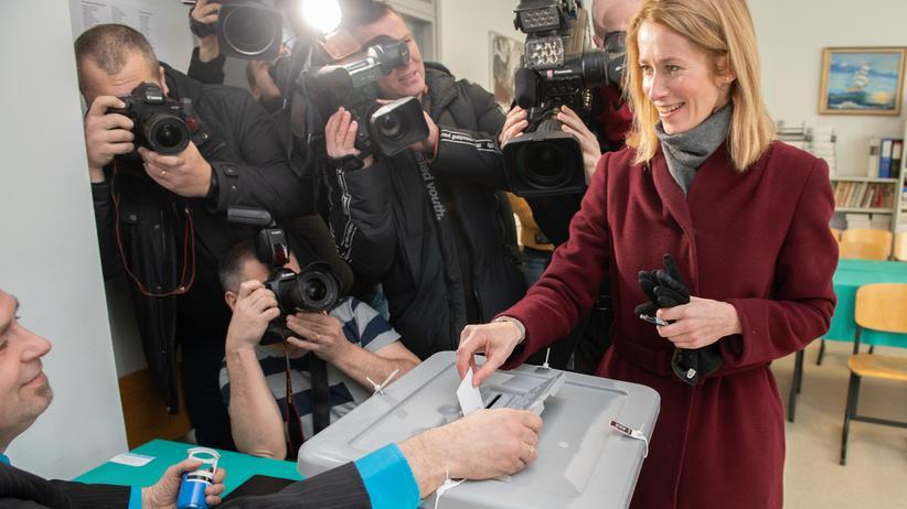 Estland: Opposition gewinnt Parlamentswahl