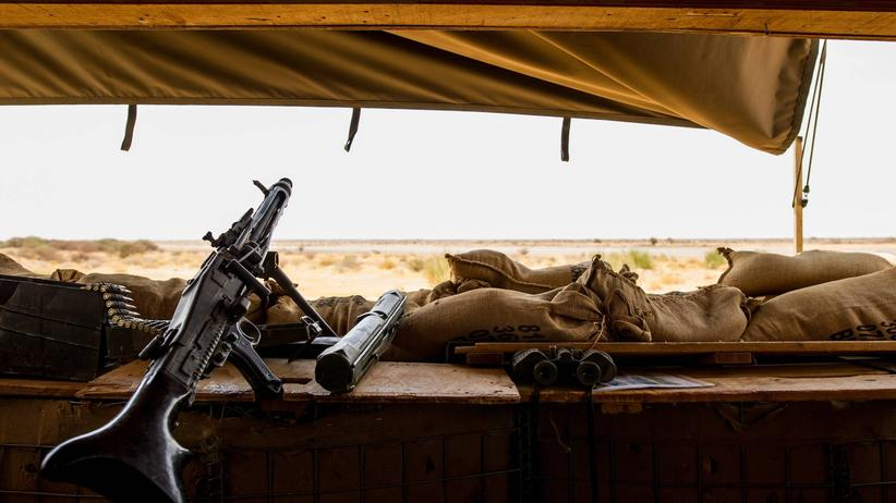 EU-Ausbildungsmission in Mali: Hinter haushohen Sandsäcken