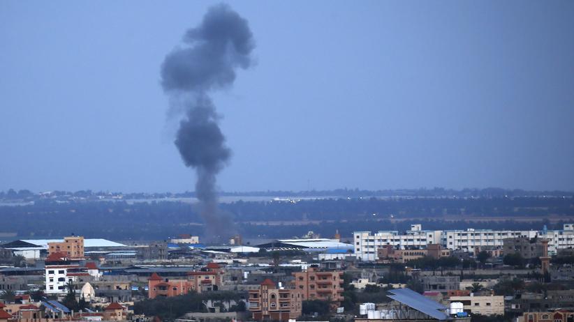 Nach Raketenangriff: Israel fliegt Vergeltungsangriffe im Gazastreifen