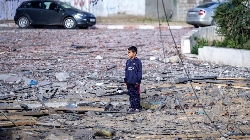 """Gazastreifen: """"Jeden Augenblick kannst Du alles und jeden verlieren"""""""
