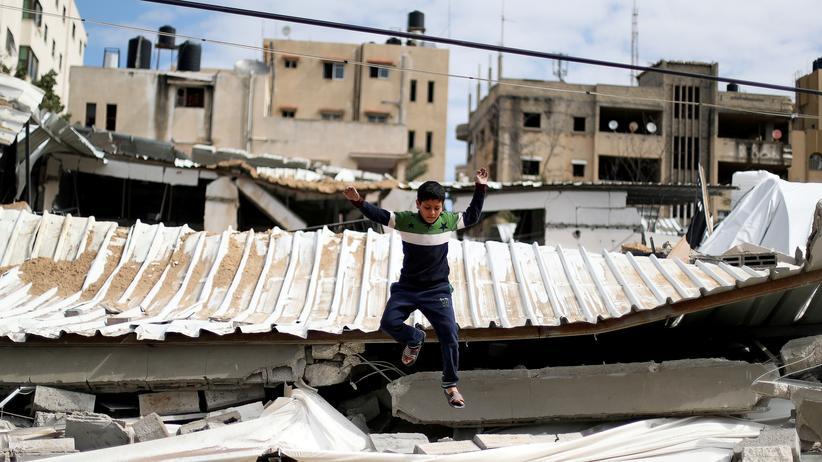 Gazastreifen: Zu verzweifelt, um Angst zu haben