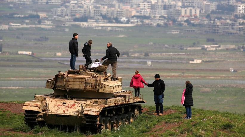 USA: Donald Trump erkennt Israels Souveränität über Golanhöhen an