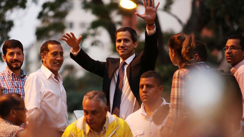 Venezuela: Venezuelas Oppositionsführer Juan Guaidó