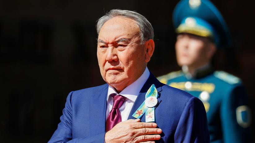 Kasachstan: Kasachischer Präsident Nursultan Nasarbajew tritt zurück