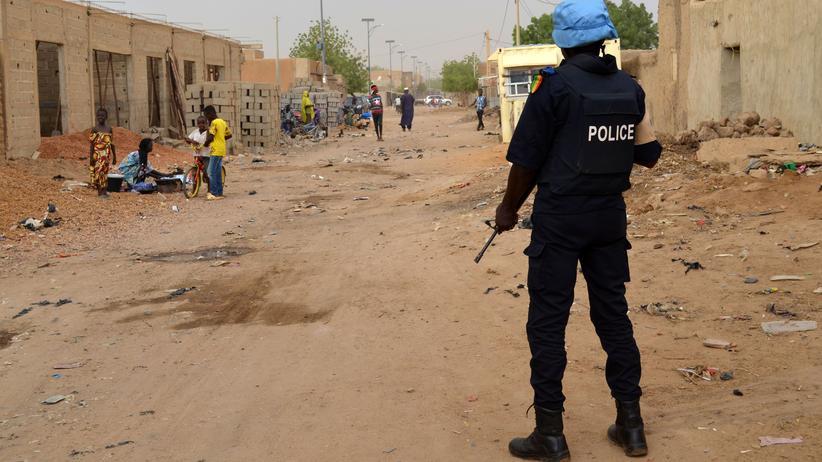 UN-Soldat in Mali (Archiv)
