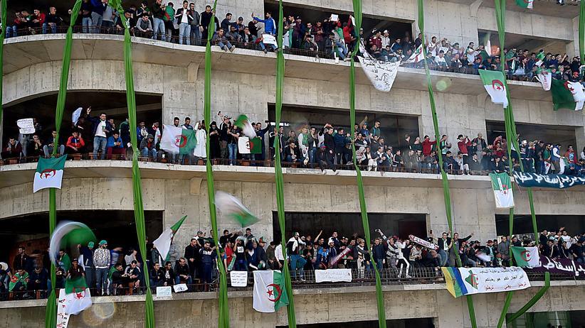 Massenprotest: Großdemonstrationen in Algerien gegen Abdelaziz Bouteflika
