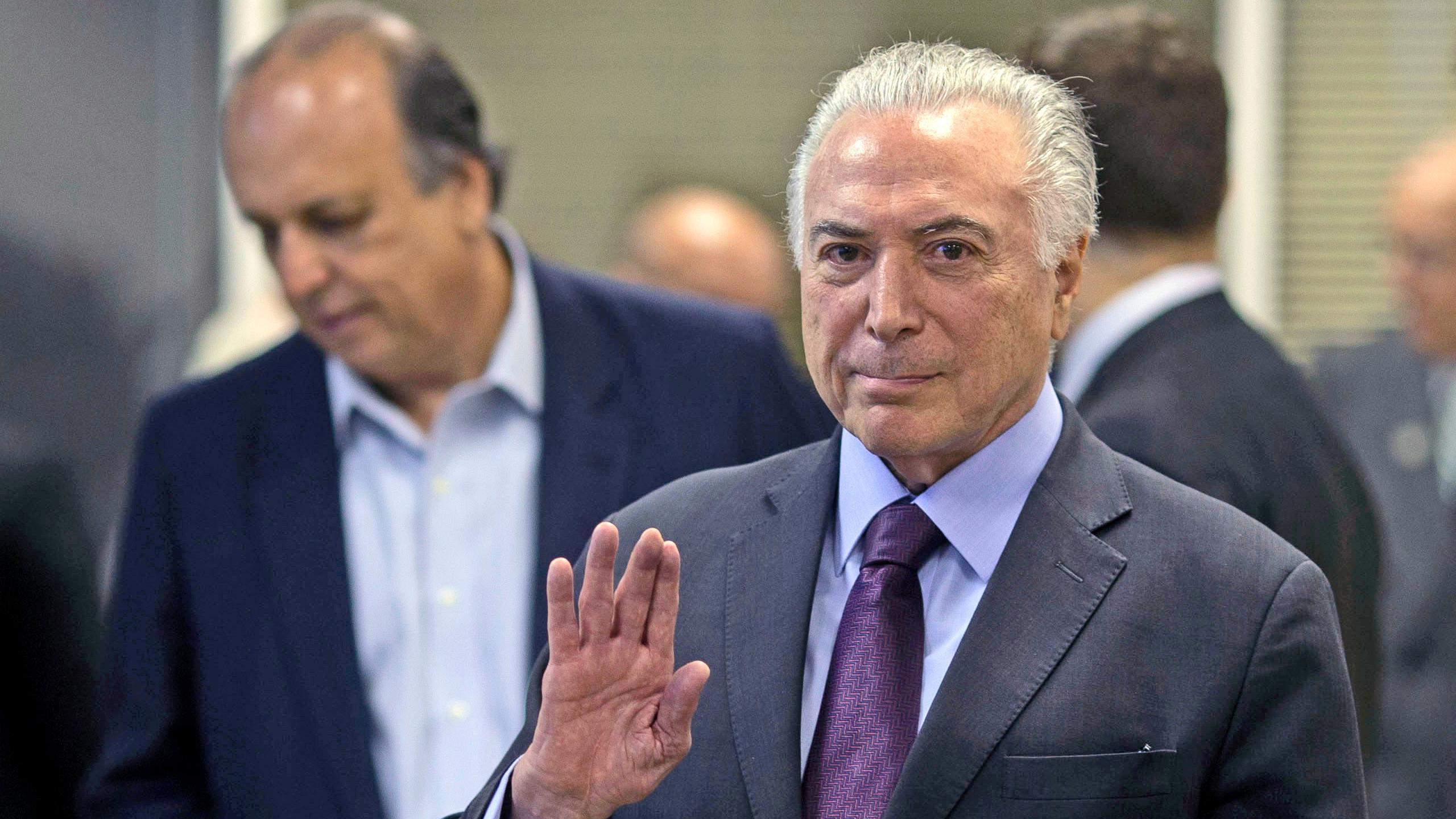 Ex-Präsident Michel Temer festgenommen