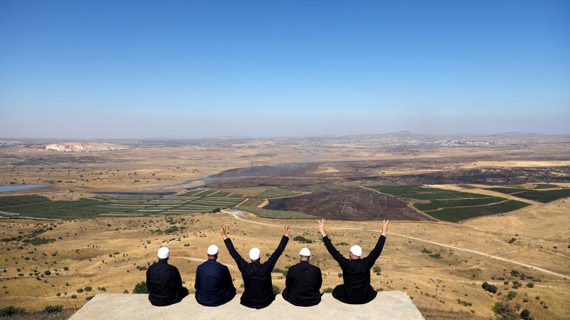 Naher Osten: Recep Tayyip Erdoğan kritisiert US-Vorstoß zu Golanhöhen