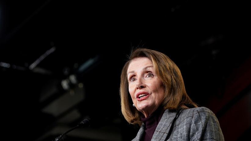 USA: Nancy Pelosi ist Mehrheitsführerin im US-Repräsentantenhaus.