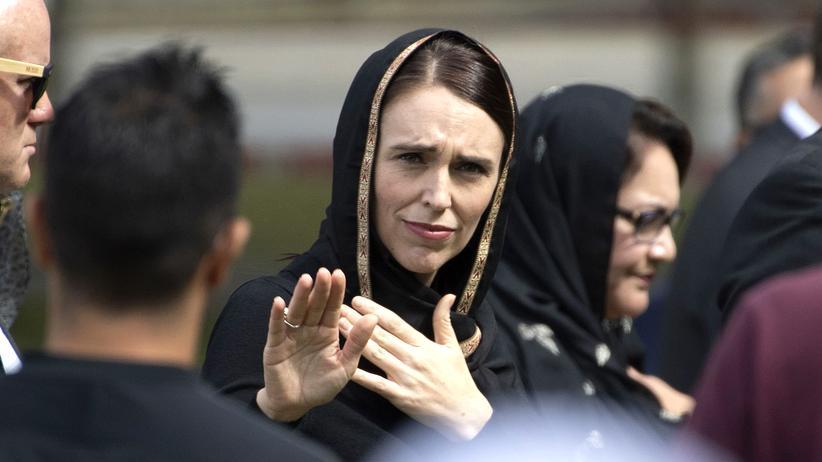 """Terror in Christchurch: Premierministerin Jacinda Ardern: """"Er wird, wenn ich spreche, namenlos sein."""""""
