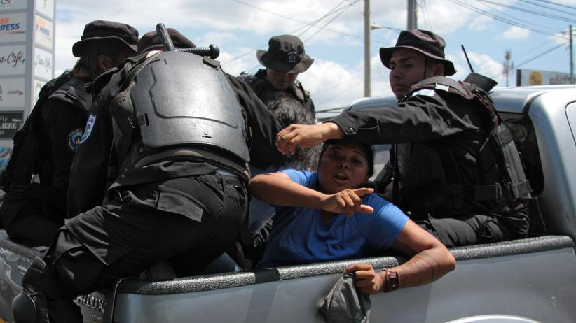 Nicaragua: Oppositionelle bei Protesten gegen Präsident Ortega festgenommen