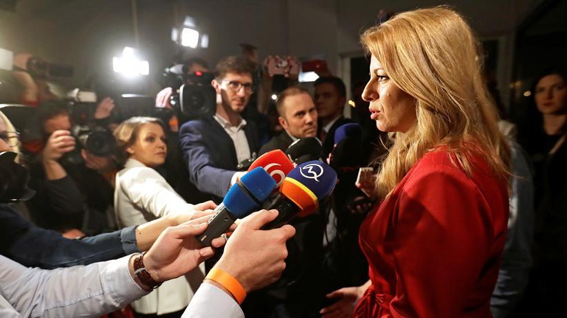 Wird eine Liberale neue Präsidentin in der Slowakei?