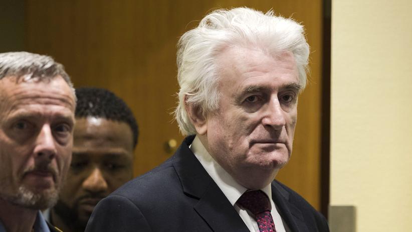 UN-Tribunal: Radovan Karadžić zu lebenslanger Haftstrafe verurteilt