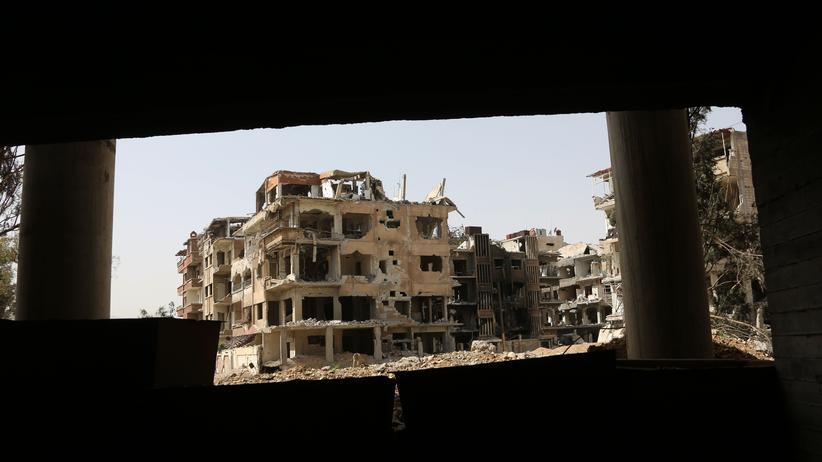 Syrien: Bundesregierung fordert Verbot von Chemiewaffeneinsätzen