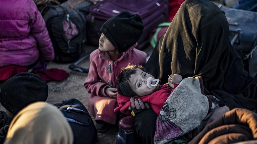 Syrien-Konferenz: EU erwartet keine schnelle Rückkehr von Flüchtlingen